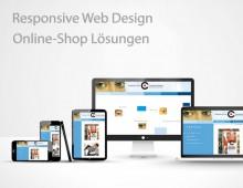 Responsive Webdesign und E-Commerce Online Shop-Lösungen